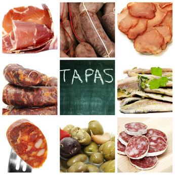 Spaans tapas buffet